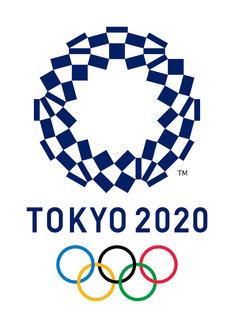 東京2020オリンピックのロゴ。