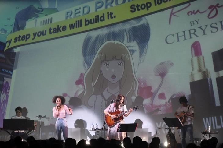 「『キャロル&チューズデイ』LIVE ~The Loneliest Girl~」の様子。
