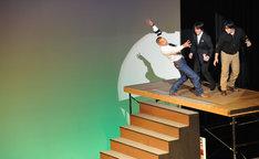 「ギネスに挑戦!?華麗なる階段落ち!」