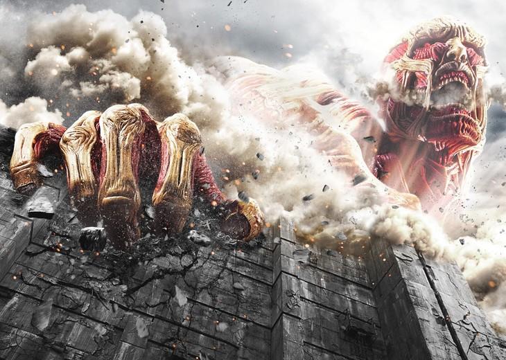 「進撃の巨人 ATTACK ON TITAN」キービジュアル  (c)2015 映画「進撃の巨人」製作委員会 (c)諫山創 / 講談社