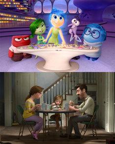 「インサイド・ヘッド」  (c)2015 Disney/Pixar. All Rights Reserved.