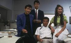 1988年公開「またまたあぶない刑事」のワンカット。(c)東映・日本テレビ放送網・セントラルアーツ・ キティ・フィルム