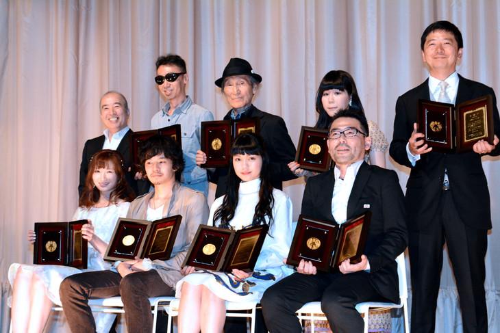 第24回日本映画プロフェッショナル大賞授賞式にて。