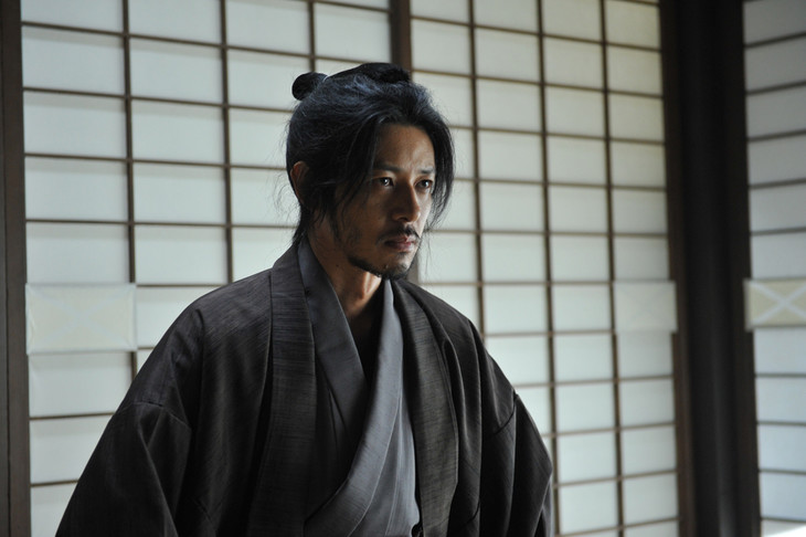 「合葬」より、森篤之進に扮するオダギリジョー。(c)2015 杉浦日向子・MS.HS/「合葬」製作委員会