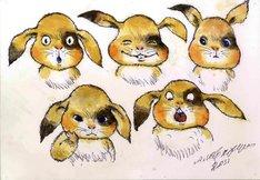 「ちえりとチェリー」レオニード・シュワルツマンによるキャラクターデザイン画。(c)「ちえりとチェリー」製作委員会