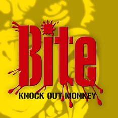 KNOCK OUT MONKEY「Bite」配信ジャケット