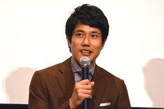 茶助役の松山ケンイチ。