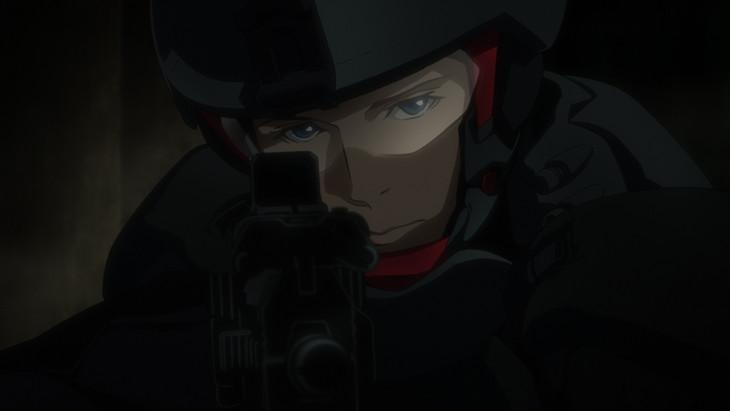 中村悠一が声優を務めるキャラクター、クラヴィス・シェパード。(c)Project Itoh / GENOCIDAL ORGAN