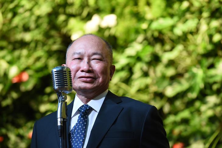 ジョン・ウー(写真提供:Dai Tianfang Xinhua News Agency / Newscom / ゼータ イメージ)