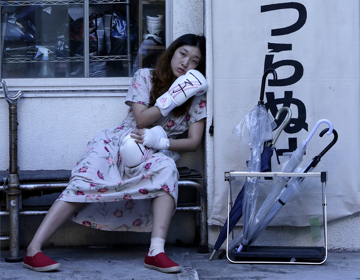「百円の恋」 (c)2014 東映ビデオ