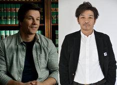 「テッド2」より左からジョン、声優の咲野俊介。