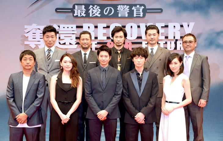向井理、綾野剛ら「S-最後の警官-」チーム、団結の秘訣はLINE ...
