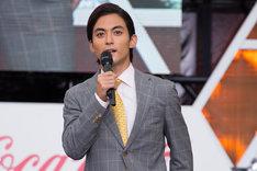 「Mr.マックスマン」トークショーに登壇した永瀬匡。
