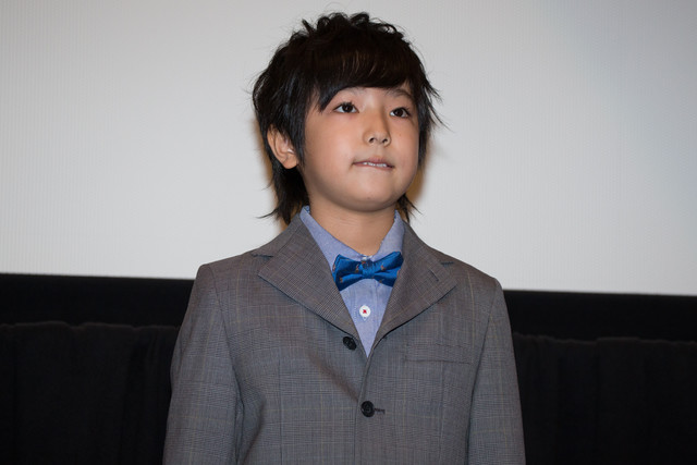 「at Home アットホーム」公開初日舞台挨拶に登壇した池田優斗。