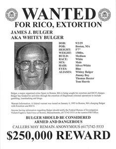 """「ブラック・スキャンダル」で描かれる実在の凶悪犯、ジェームズ・""""ホワイティ""""・バルジャー。"""