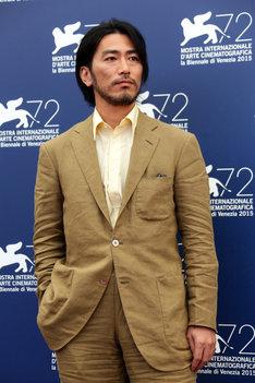 第72回ヴェネツィア国際映画祭に出席した長谷井宏紀。