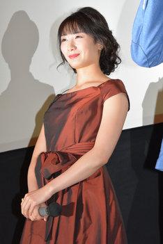 本作で闇社会に堕ちていく女性役で過激な演技に挑戦した武田梨奈。