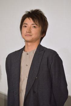 落ち目の俳優・杉崎正雄役の藤原竜也。
