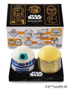 """「""""R2-D2&C-3PO""""ケーキセット」(1404円)"""