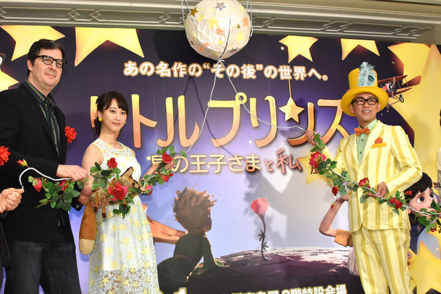 「リトルプリンス 星の王子さまと私 展」オープニングセレモニーの様子。