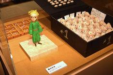 「リトルプリンス 星の王子さまと私 展」にて、リトルプリンスのストップモーションパペット。