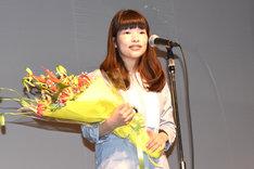 最優秀作品賞を受賞した「きみはいい子」監督の呉美保。