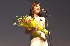最優秀女優賞を受賞した綾瀬はるか