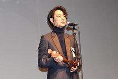 最優秀男優賞を受賞した綾野剛。