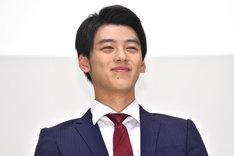 「仮面ライダードライブ」主人公・泊進ノ介 / 仮面ライダードライブ役の竹内涼真。