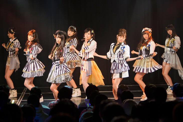 NMB48「新春特別公演2016」の様子。