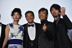 左から浅野温子、舘ひろし、柴田恭兵、仲村トオル。