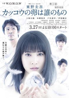 連続ドラマW「東野圭吾 カッコウの卵は誰のもの」ポスタービジュアル