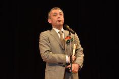 監督賞と脚本賞に輝いた橋口亮輔。