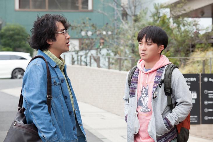 左からムロツヨシ、濱田岳。 (c)2016「ヒメアノ~ル」製作委員会