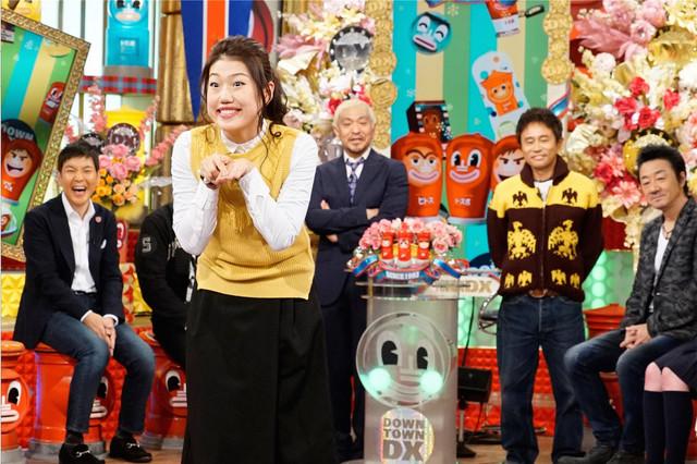 3月3日放送の「ダウンタウンDX」より。(c)日本テレビ