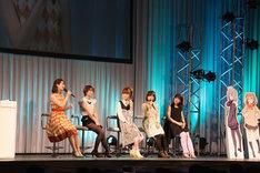 「AnimeJapan 2016」にて「ポッピンQ」スペシャルステージの様子。