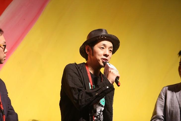 第40回香港国際映画祭「TOO YOUNG TO DIE! 若くして死ぬ」公式上映に登壇した宮藤官九郎。