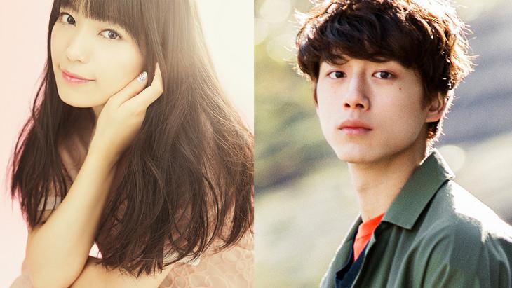 「君と100回目の恋」でダブル主演を務めるmiwa(左)と坂口健太郎(右)。