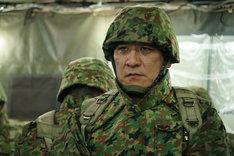「シン・ゴジラ」より、自衛隊関係者役のピエール瀧。