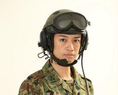 「シン・ゴジラ」より、自衛隊関係者役の斎藤工。