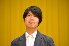 「世界から猫が消えたなら」完成披露試写会での川村元気。