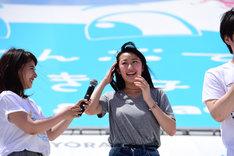「カーラヌカン」ヒロインに選ばれた木村涼香さん。(c)2009-2016 沖縄国際映画祭/よしもとラフ&ピース