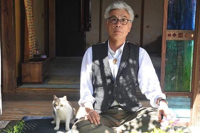 「先生と迷い猫」 (c)2015「先生と迷い猫」製作委員会