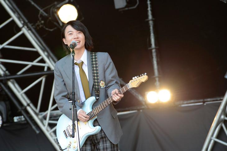 メトロックでギターパフォーマンスを見せた神木隆之介。