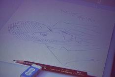 友永和秀が描いたルパン三世。