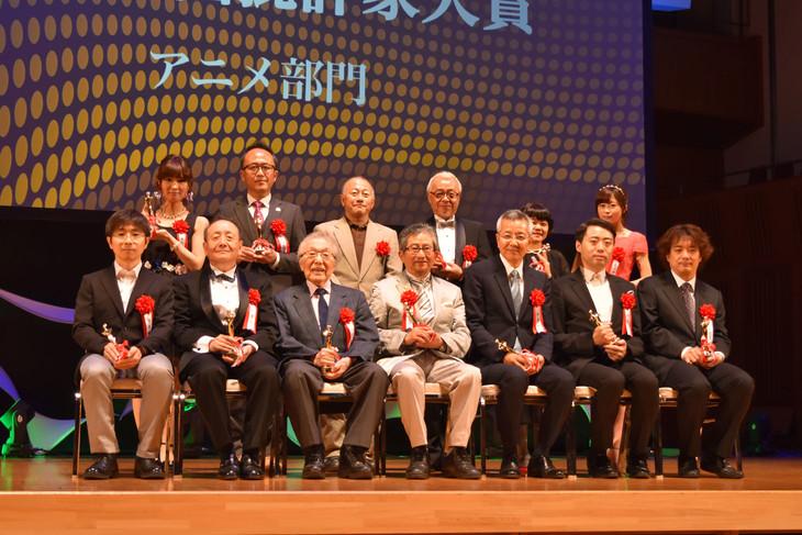 第25回日本映画批評家大賞アニメ部門授賞式の様子。
