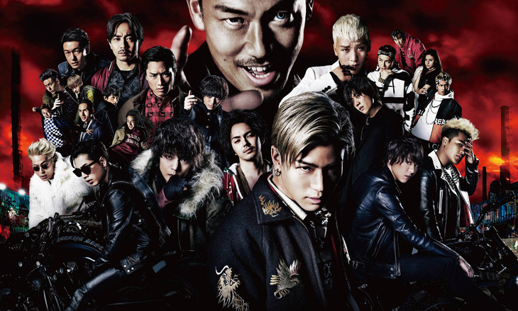 「HiGH&LOW THE MOVIE」メインビジュアル