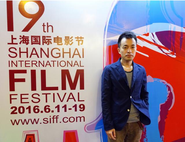 第19回上海国際映画祭に参加した前田司郎