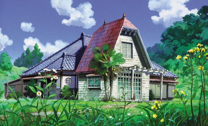 「となりのトトロ」草壁家 イメージボード (c) 1988 Studio Ghibli