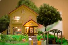 「崖の上のポニョ」宗介の家 模型 (c) 2008 Studio Ghibli・NDHDMT